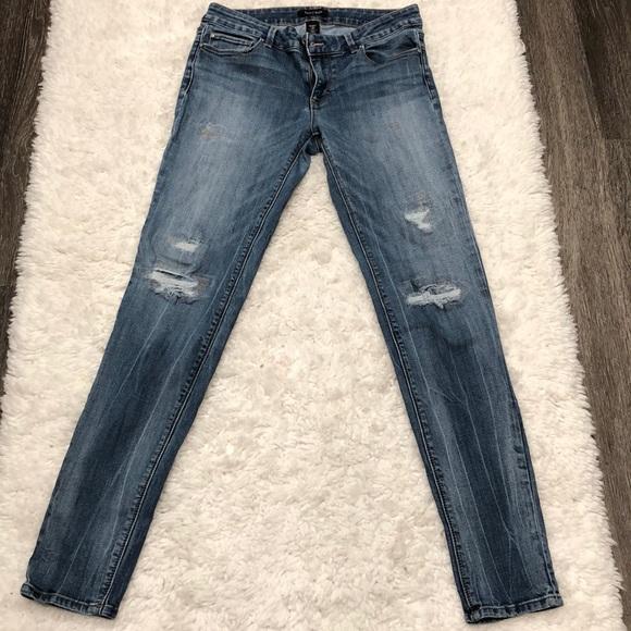 White House Black Market Denim - White House Black Market Distresses Jeans